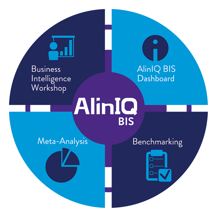 AlinIQ Business Intelligence System Wheel Image