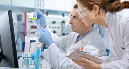 Laboratory Technicians Working Image