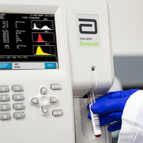 Open Tube Testing on CELL-DYN Emerald Small Hematology Analyzer