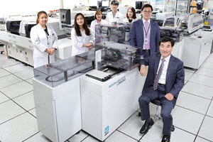 Image Korea Clinical Laboratory Valeur totale de possession